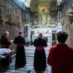 Da Loreto l'invito del papa ad avere coraggio