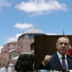 Dolore, tristezza e dispiacere mescolato all'indignazione per la conversione della basilica cristiana Hagia Sophia in moschea