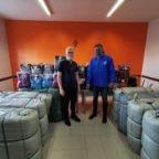 Smoc di Napoli e Campania dona indumenti nuovi a persone bisognose