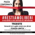 Campagna #RestiamoLiberi contro Disegno di legge liberticida sull'omotransfobia. Nota del Vescovo di Trieste
