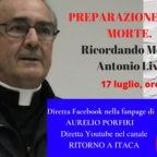 Stasera Porfiri e Valli ricordano il teologo Antonio Livi e presentano suo libro postumo