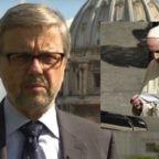 Qualcosa alla sanità vaticana non va. E il Papa porta la mascherina in macchina e se la toglie per incontrare la gente