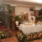 Padre Jarek ha ringraziato la gente di Gragnano