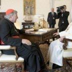 Il Santo Padre Francesco ha ricevuto questa mattina il Cardinal George Pell in Udienza privata