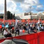 #restiamoliberi. A Roma in migliaia per chiedere il ritiro del liberticida, inutile, dannoso e anticostituzionale Ddl Zan sull'omotransfobia