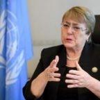 """Michelle Bachelet, Alto Commissario ONU per i Diritti Umani: """"Abbiamo bisogno di principi massonici, uniamoci come un'unica umanità, ecco cosa siamo"""""""