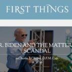 """La Comunione al Signor Biden e la questione dello scandalo. """"I vescovi danno scandalo se non parlano pubblicamente della questione"""""""