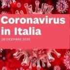 """Numeri ufficiali Covid-19 del 28 dicembre 2020. Gori: Comune Bergamo offesa in indagine pm per """"epidemia colposa"""". 27 febbraio 2020: #bergamononsiferma"""