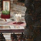 Papa Francesco ha celebrato la festa della Madonna di Guadalupe