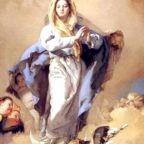 Solennità dell'Immacolata Concezione della Beata Vergine Maria, Regina dei Santi, Patrona dell'Ordine Francescano e del Regno delle Due Sicilie
