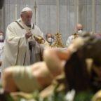 Papa Francesco invita a vedere Dio