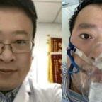 Numeri ufficiali Covid-19 del 6 febbraio 2021. Omaggio dei cinesi sul web al medico Li Wenliang 李文亮, uno dei primi che lanciò allarme Sars-CoV-2