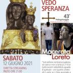 Don Carron al Pellegrinaggio Macerata-Loreto: sempre in cammino