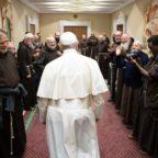 Il papa ai frati minori: coltivate le relazioni