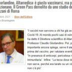 LinkedIn ha cancellato il post con l'articolo «Prof. Giorlandino, Altamedica: è giusto vaccinarsi, ma per cose che funzionano. Il Green Pass demolito da uno studio dello Spallanzani di Roma»